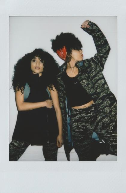 Dizzy Fae & Lauren - Nike x GreenRoom – Version 2